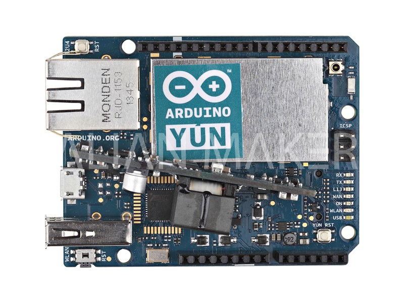 Arduino yun with poe italian makers